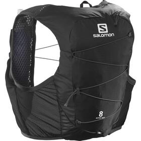 Salomon Active Skin Vest 8 sæt, sort